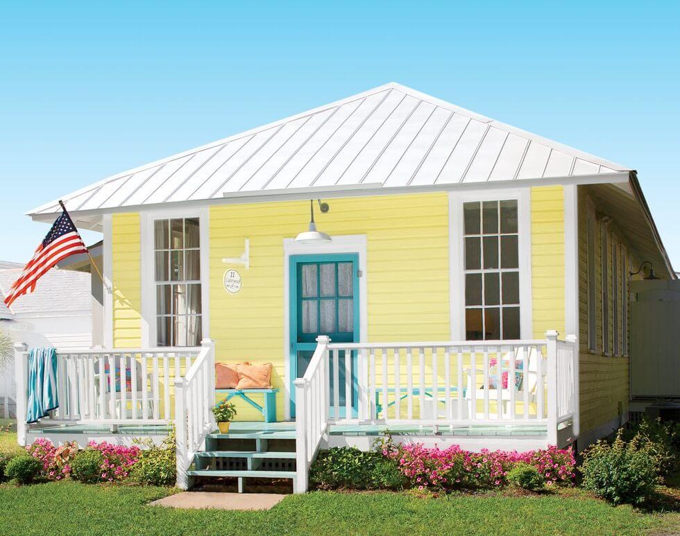 Tybee Island Georgia Beach Cottage Exterior