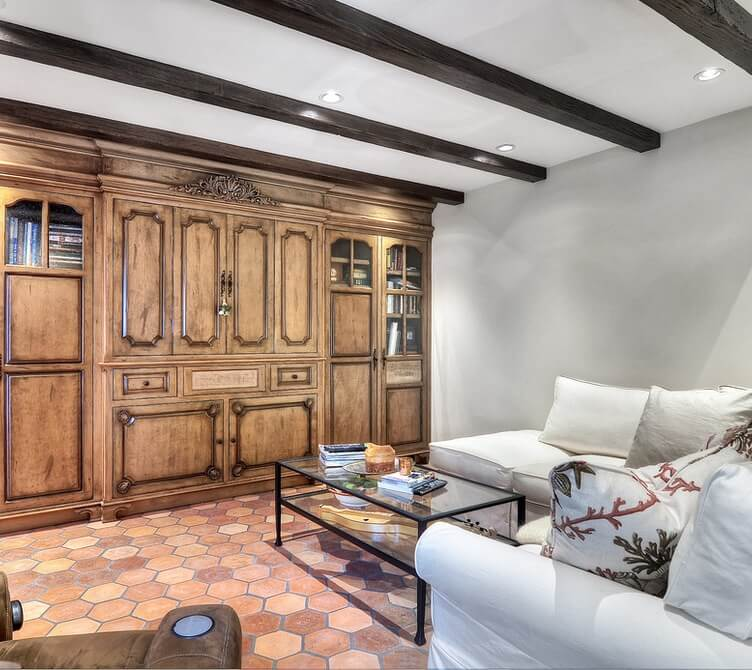 Historic Laguna Beach Home Family Room
