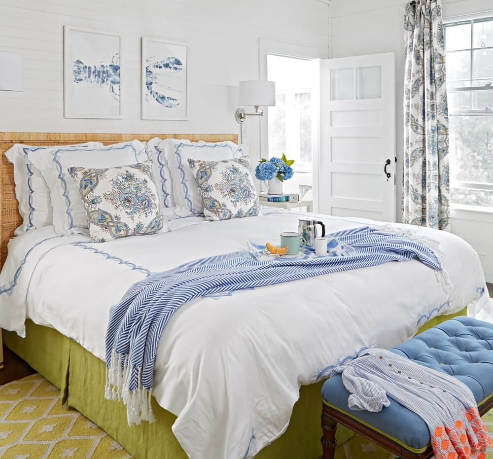 Historic Maine Beach Cottage Bedroom 2