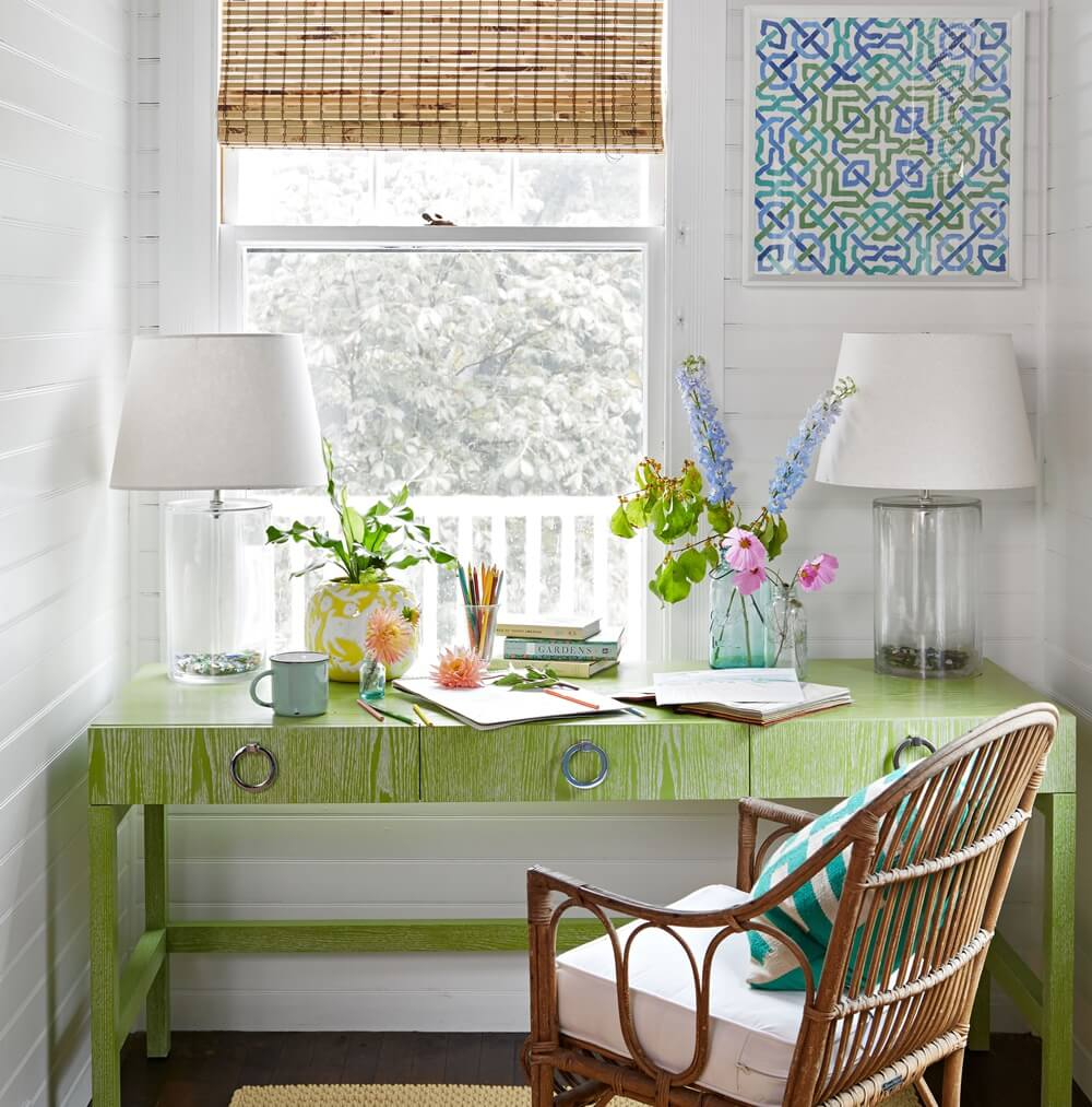 Historic Maine Beach Cottage Office