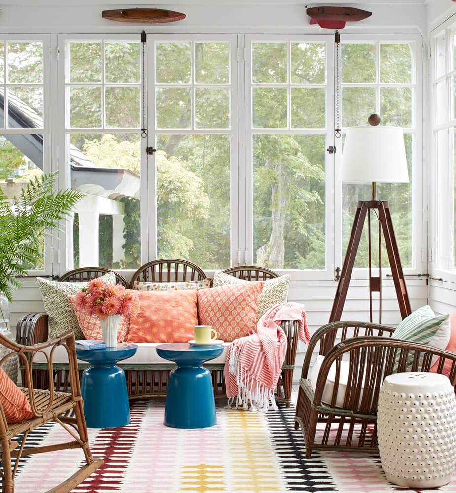Historic Maine Beach Cottage Sitting Porch