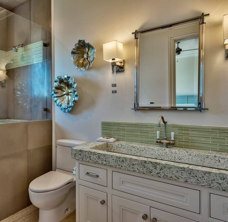 Luxury Destin Florida Beach Rental Bathroom 1