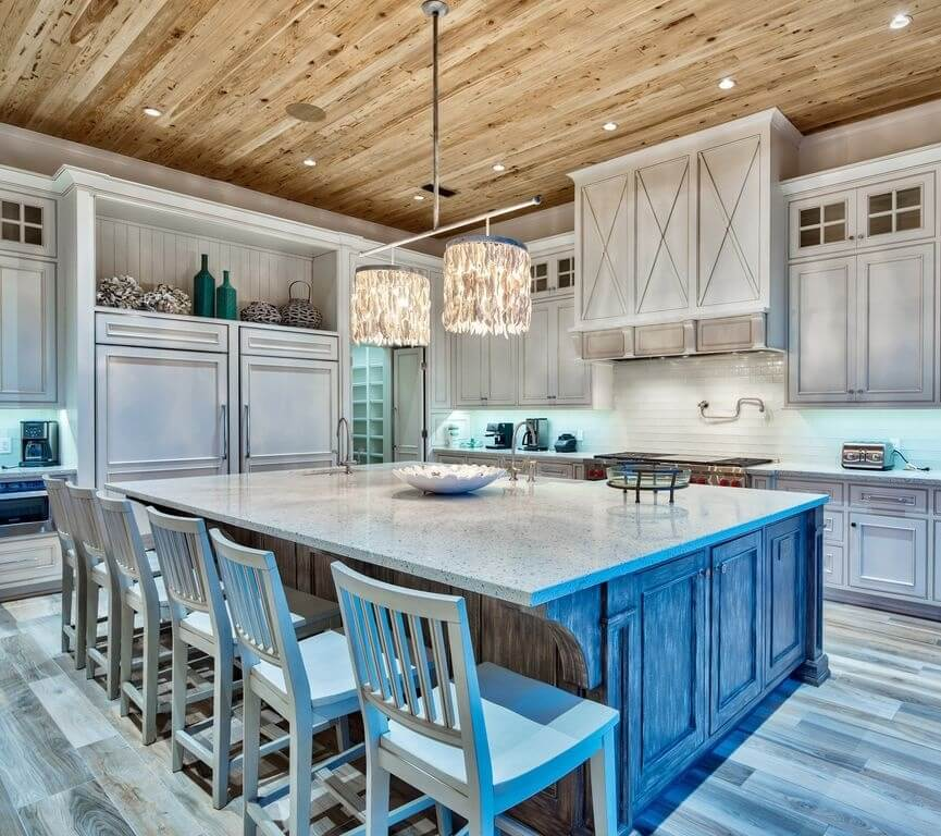 Luxury Destin Florida Beach Rental Kitchen