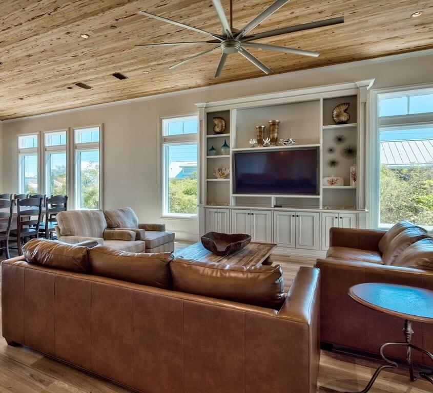 Luxury Destin Florida Beach Rental Living Area