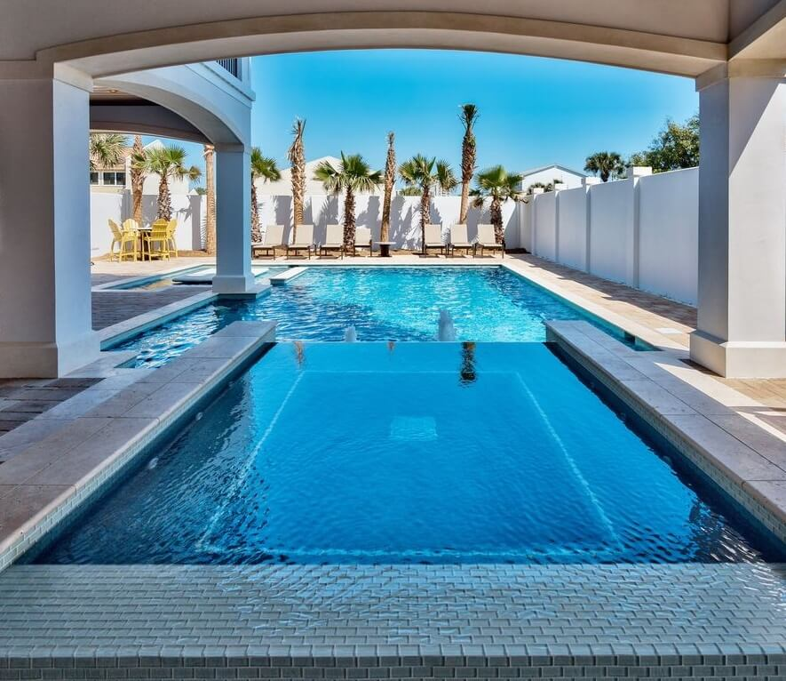 Luxury Destin Florida Beach Rental Pool