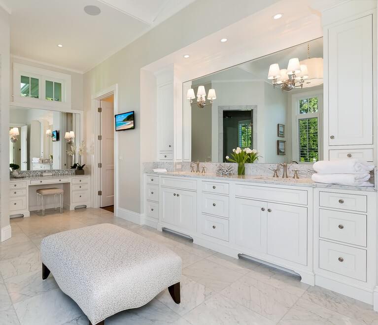 Naples Florida Beach House Bathroom