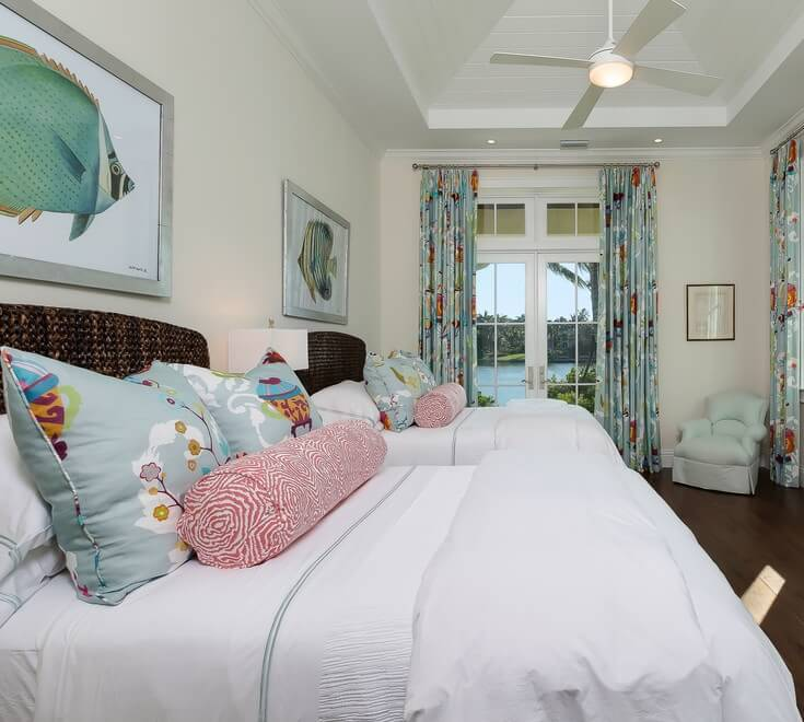Naples Florida Beach House Bedroom