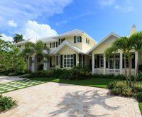 Naples Florida Beach House Exterior