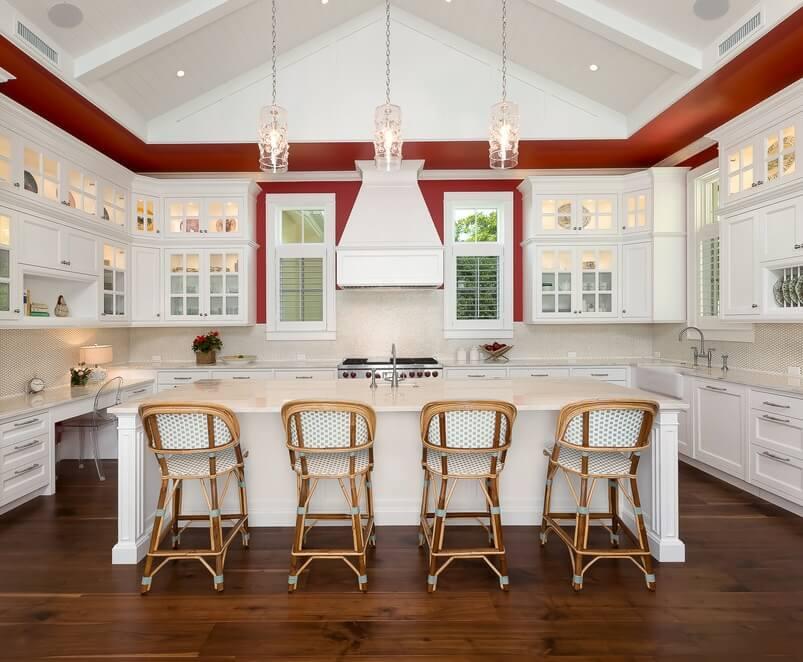 Naples Florida Beach House Kitchen
