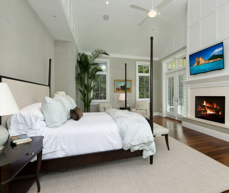 Naples Florida Beach House Master Bedroom