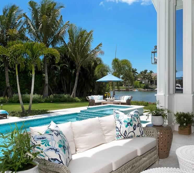 Naples Florida Beach House Pool