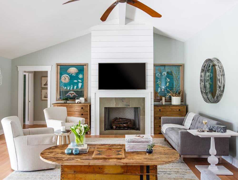 Ponte Vedra Beach House Living Room