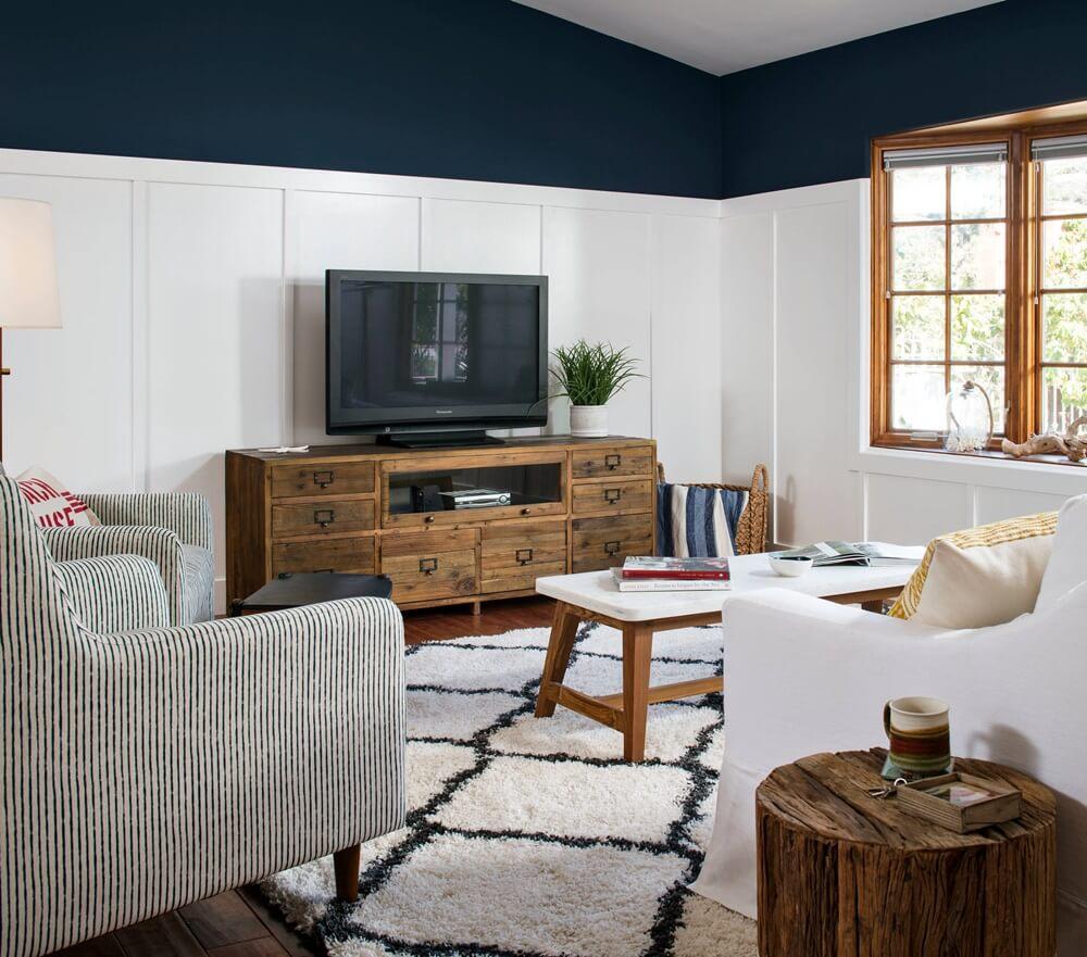 San Diego California Beach House Living Room