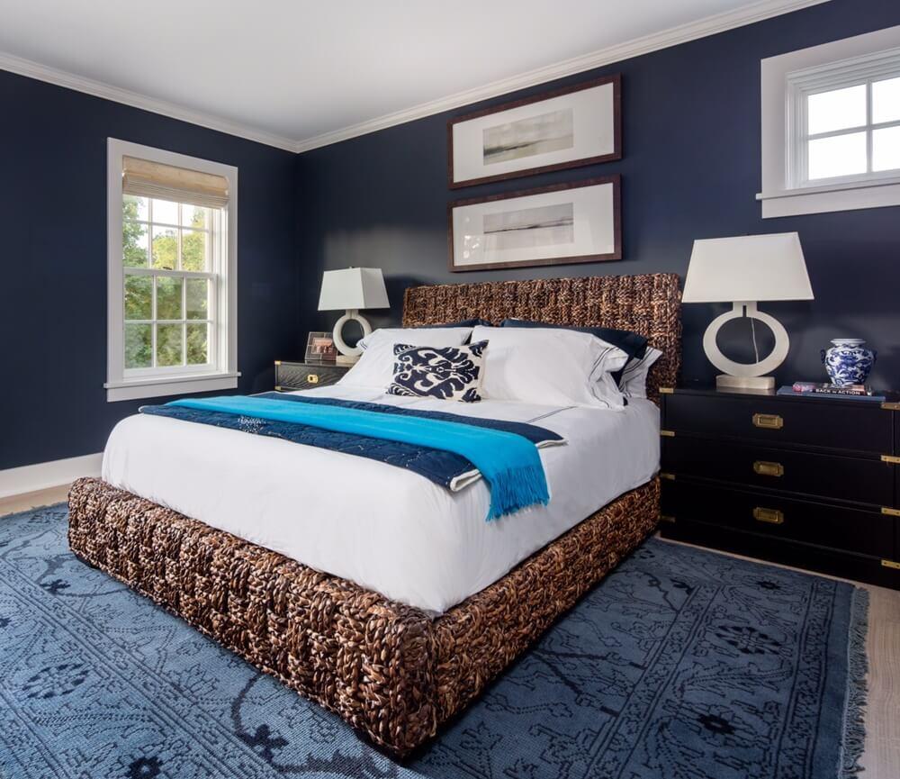 Southampton New York Beach House Bedroom