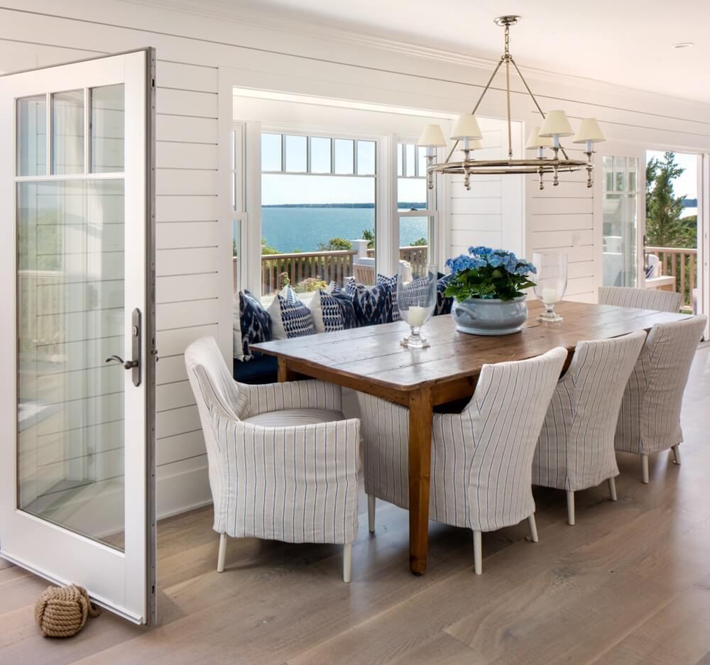 Southampton New York Beach House Dining Area
