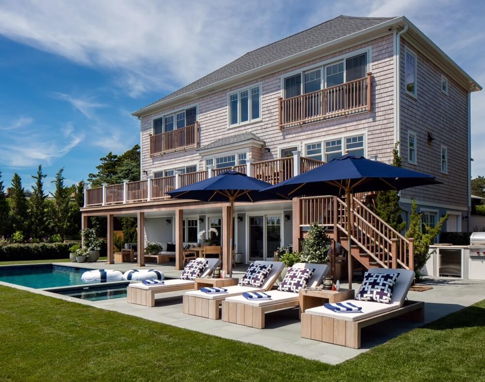 Southampton New York Beach House Pool
