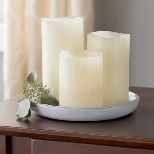click to buy flameless candles at Wayfair