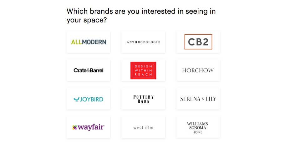 Modsy Brands - Online Interior Design Service