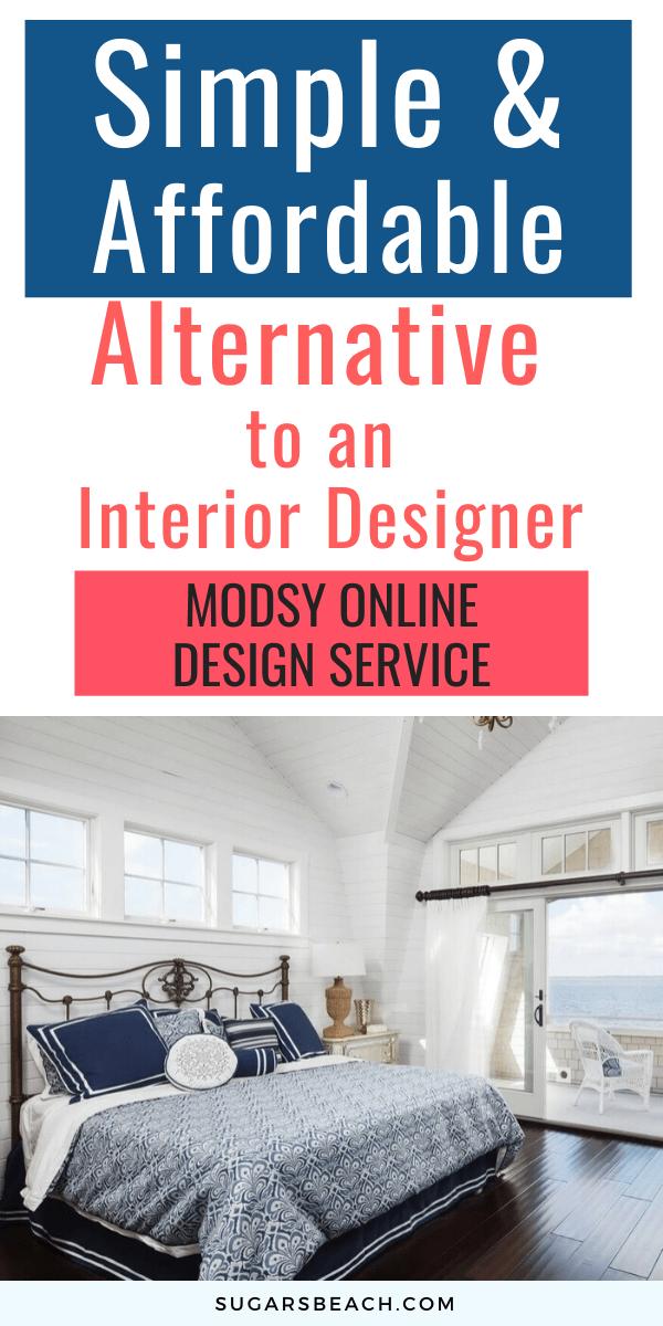 Modsy Online Interior Design Service