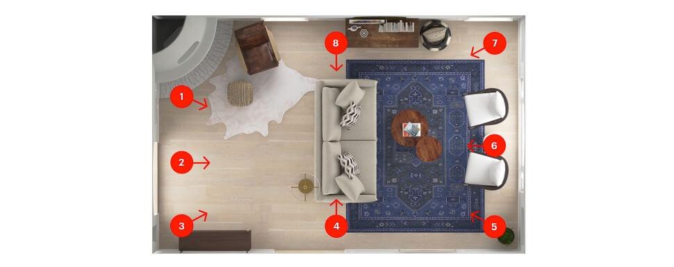 Modsy Photo Directions - Online Interior Design Service