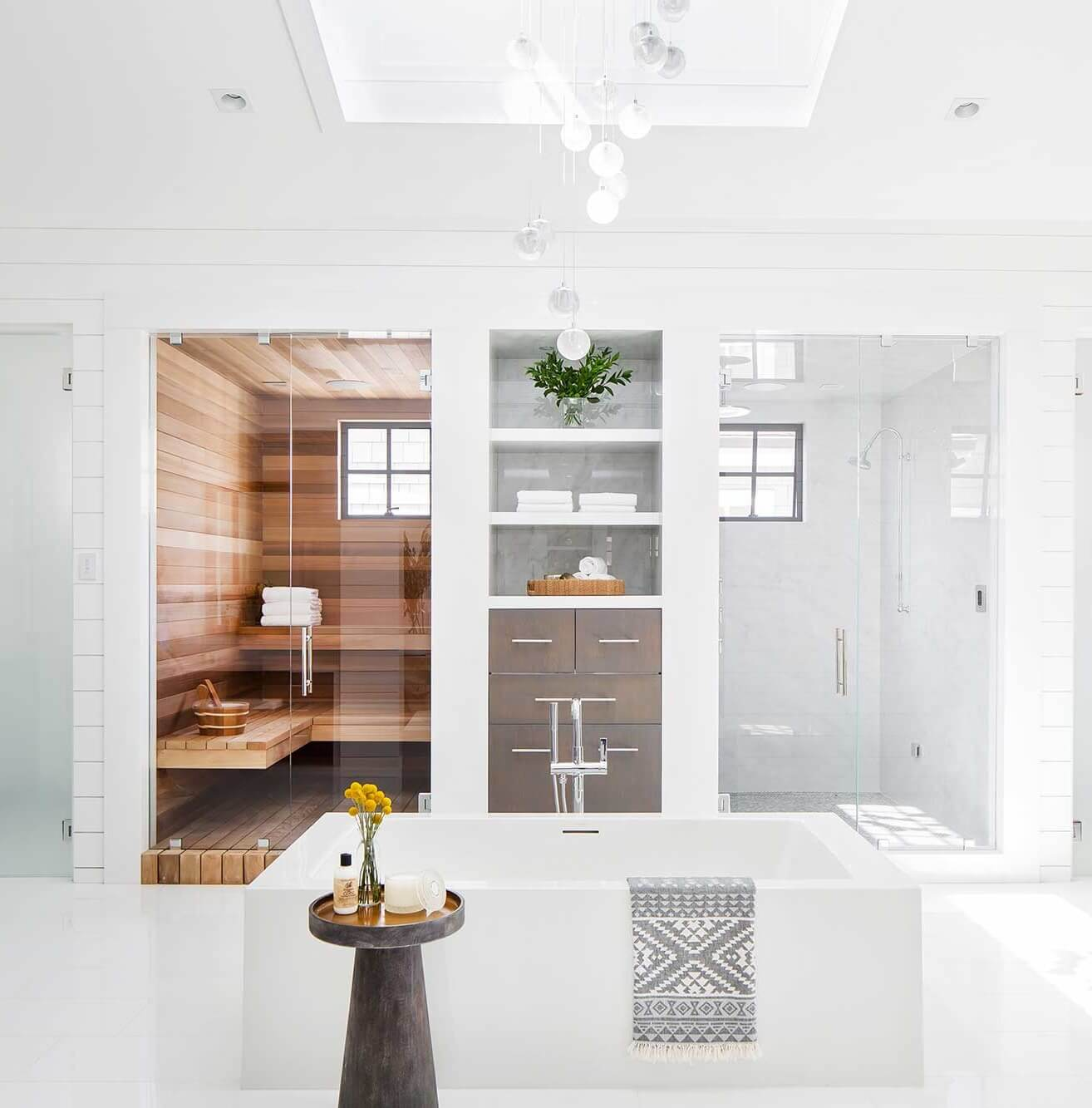 Balboa Peninsula Beach Master Bathroom