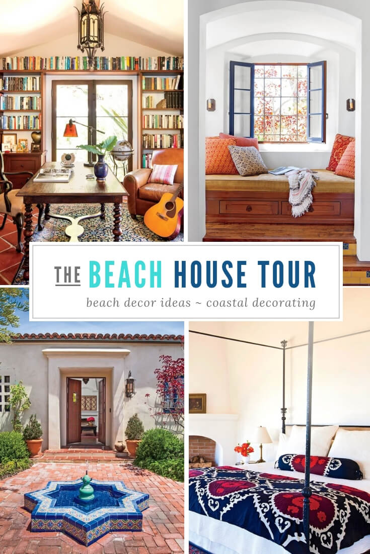 Malibu Beach Home Tour
