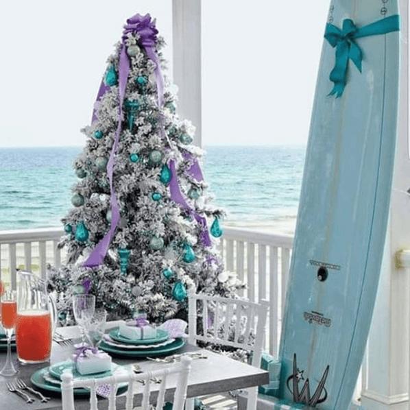 Coastal Christmas Decor On Instagram Sugars Beach
