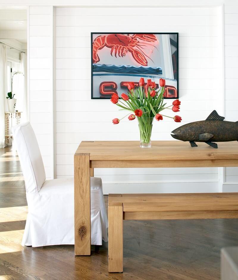 Boston Massachusetts Beach House Dining Area