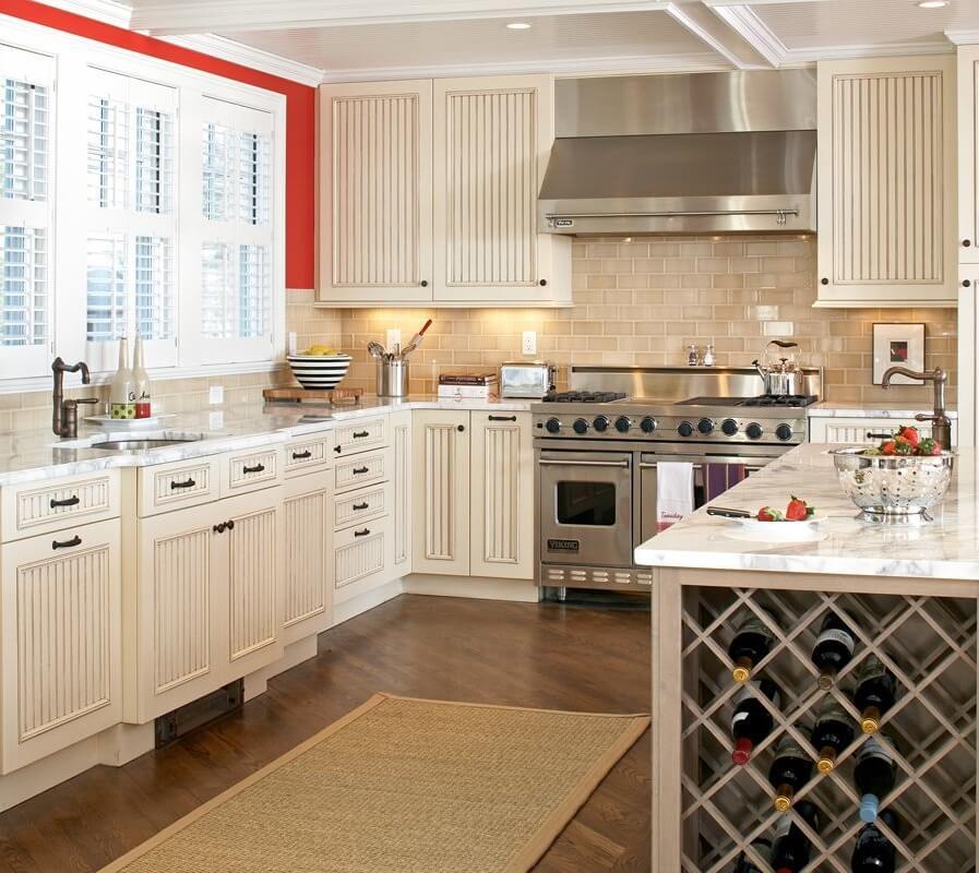 Boston Massachusetts Beach House Kitchen