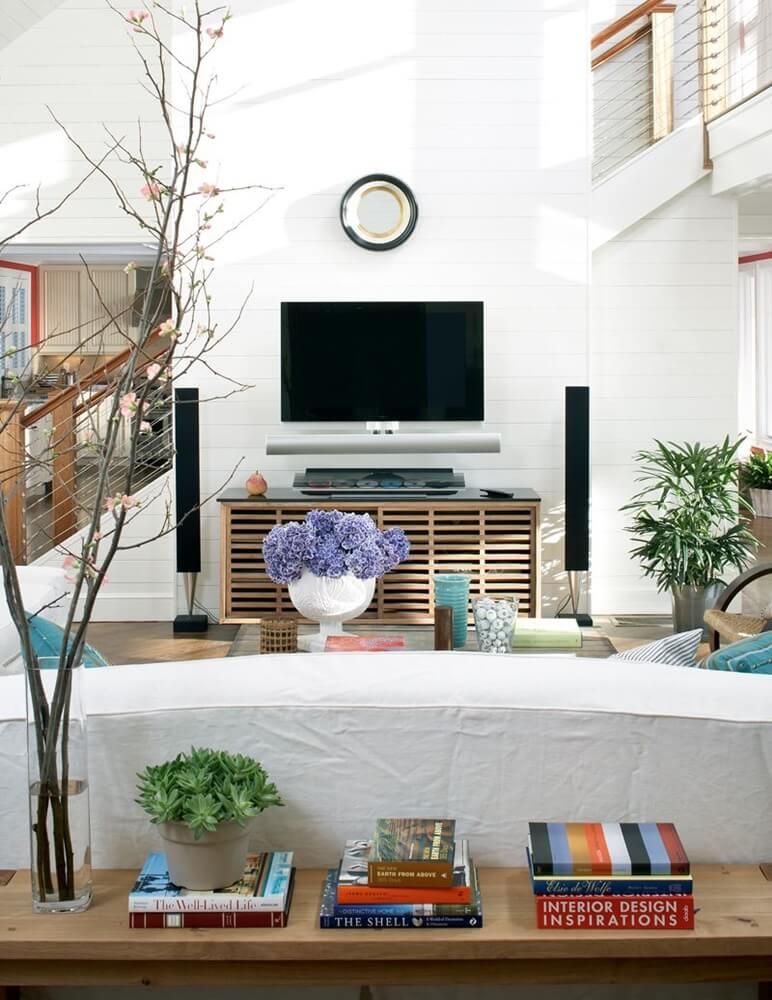 Boston Massachusetts Beach House Living Room