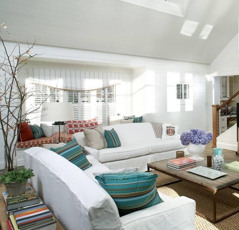 Boston Massachusetts Beach House Living Room1