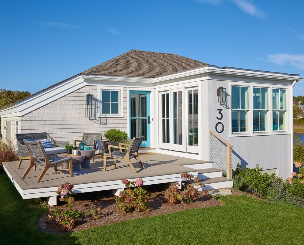 Small Modern Cottage Exterior
