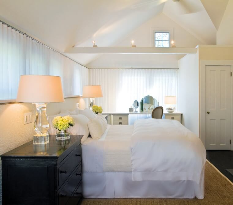 East Hampton New York Master Bedroom