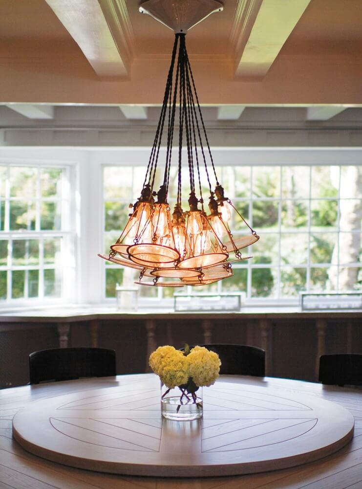 East Hampton New York Dining Area Lighting Fixture