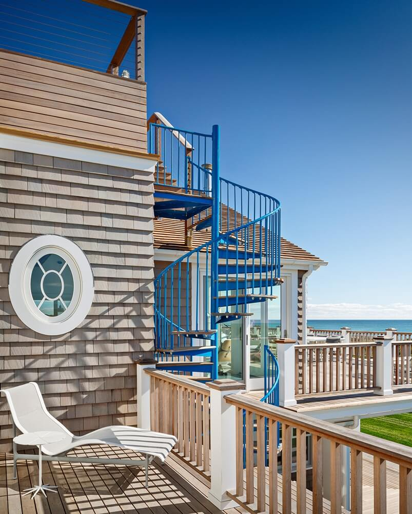 Montauk New York Beach House Deck