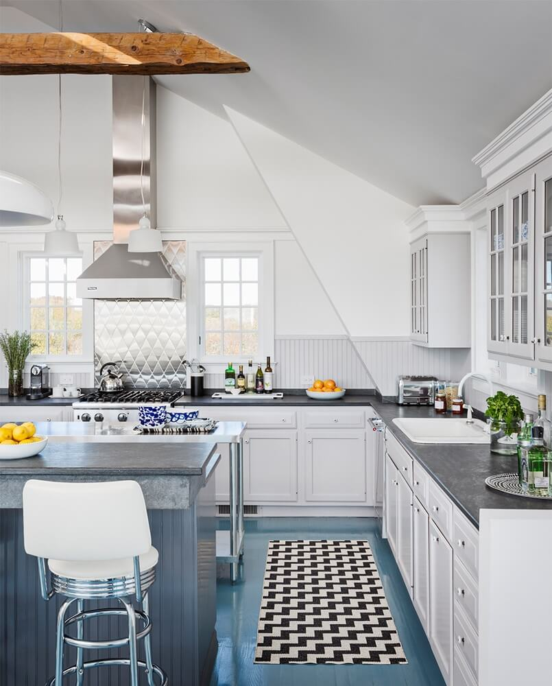 Montauk New York Beach House Kitchen