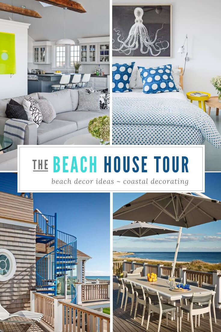 Montauk New York Beach House Tour Pin