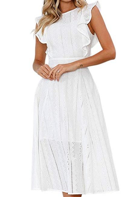 Casual White Beach Dresses