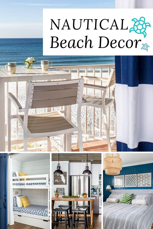 Beach house tour decorating ideas at SugarsBeach.com The finest beach house decor inspiration. #SugarsBeach