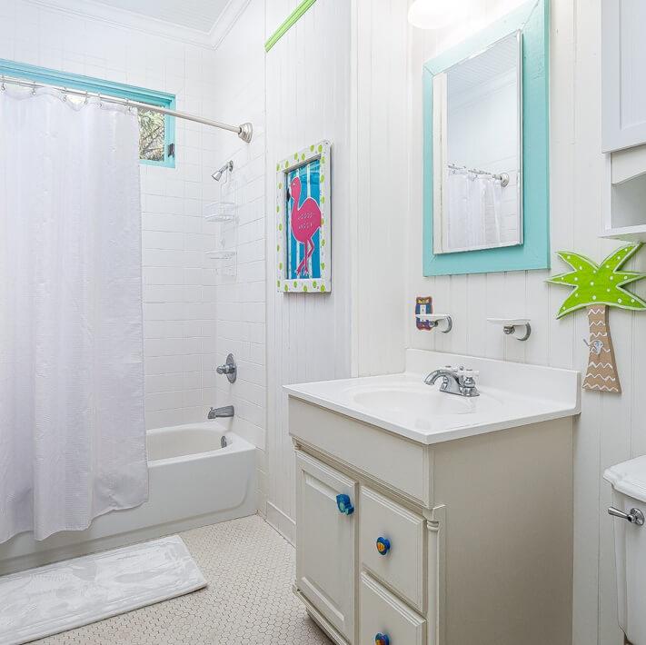 Tybee Island Georgia Bathroom