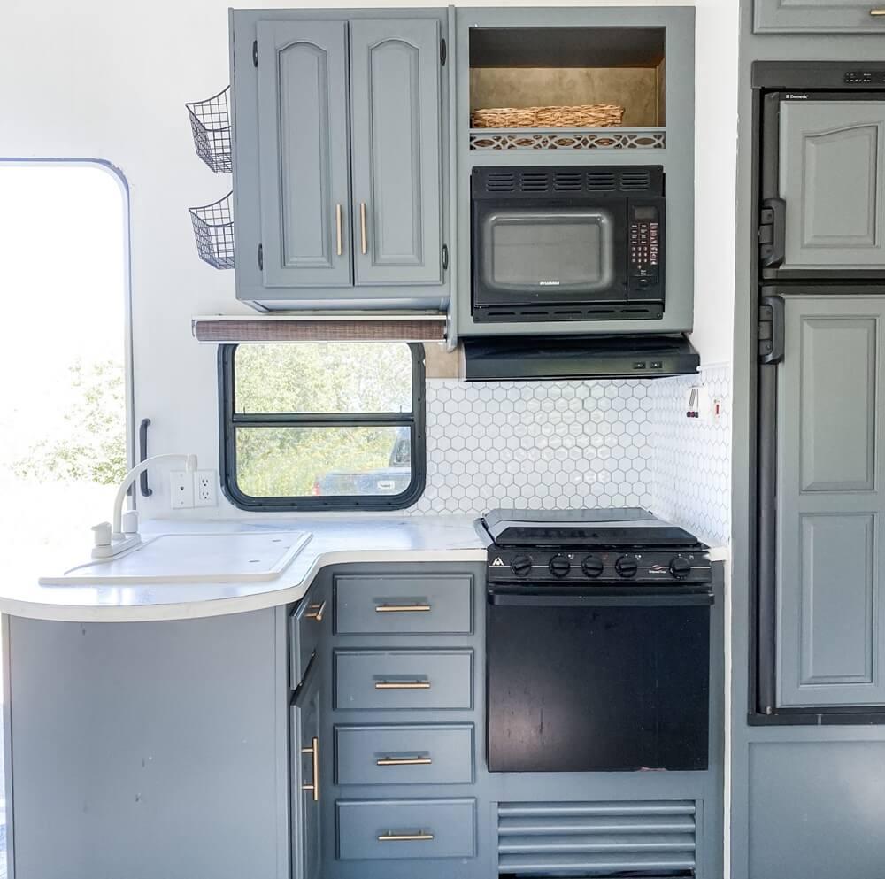 Duluth Minnesota RV Kitchen