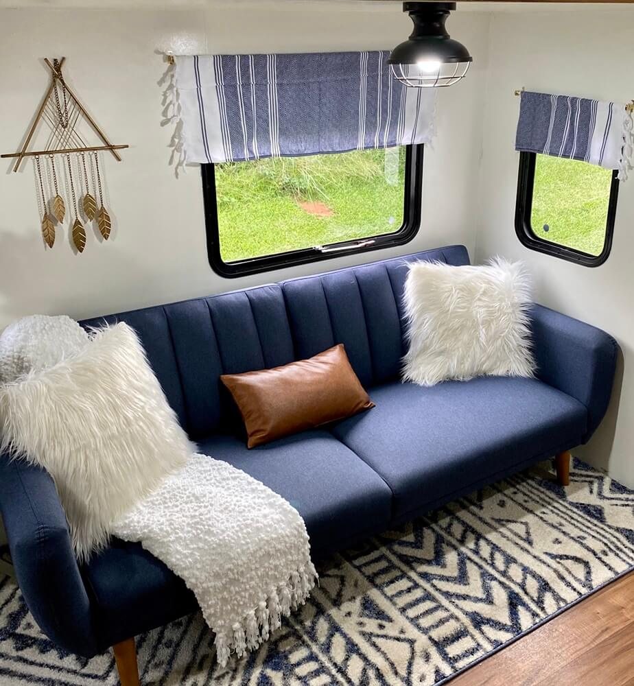 Forest River Budget Vacation Home Sofa