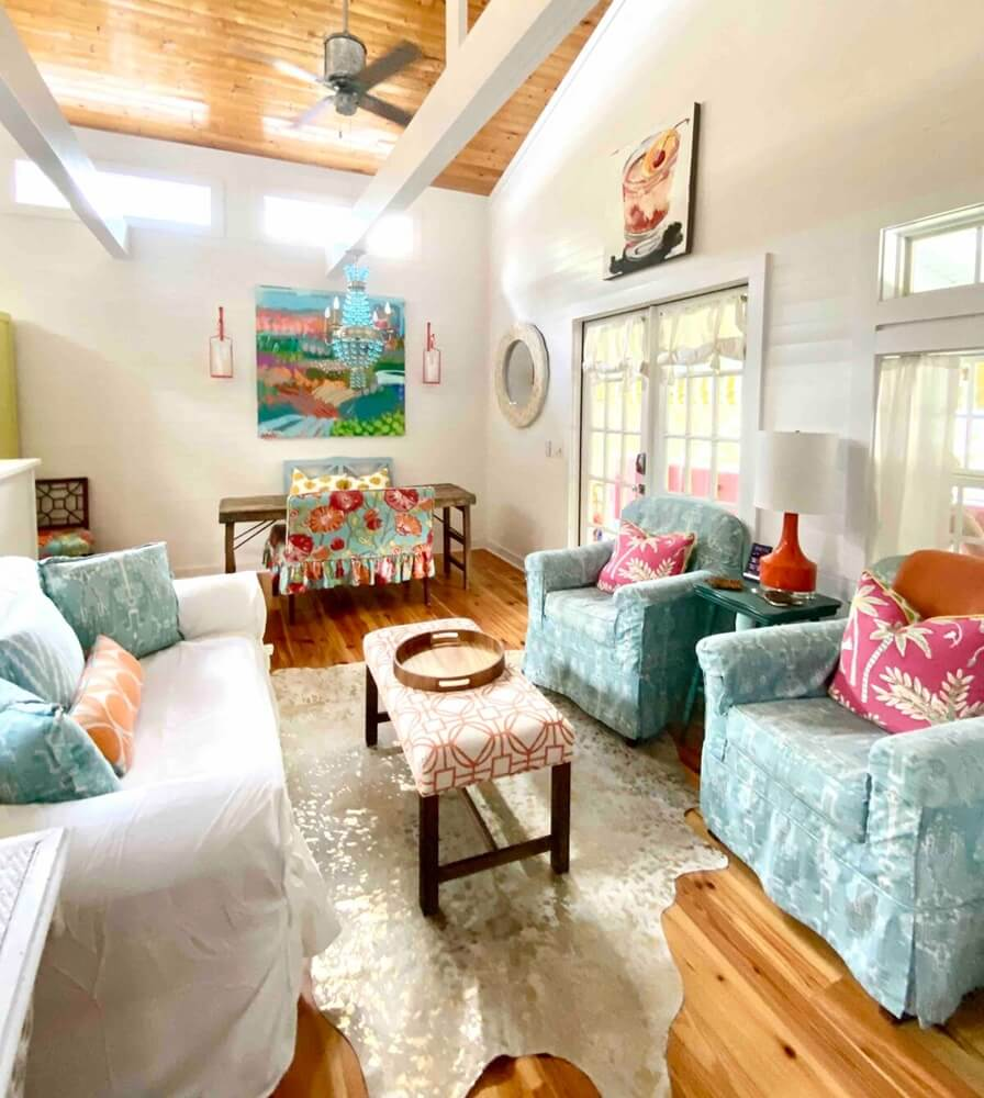 Southern Conch Living Room