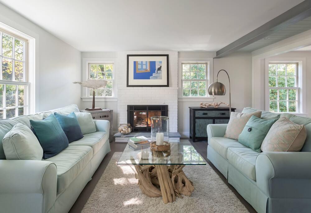 Bonnet Shores Rhode Island Living Room